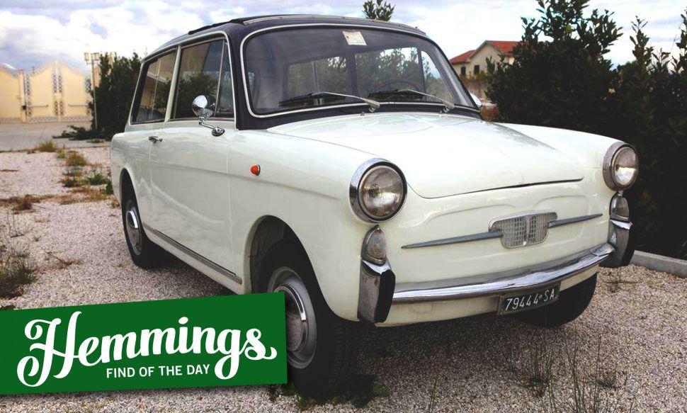 Hemmings Find of the Day: 1961 Autobianchi Panoramica