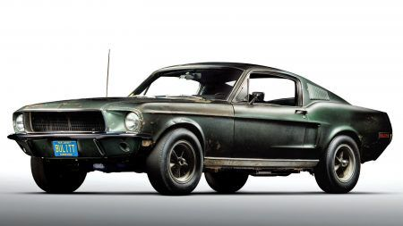 What happened to the Bullitt Mustang while it was in hiding