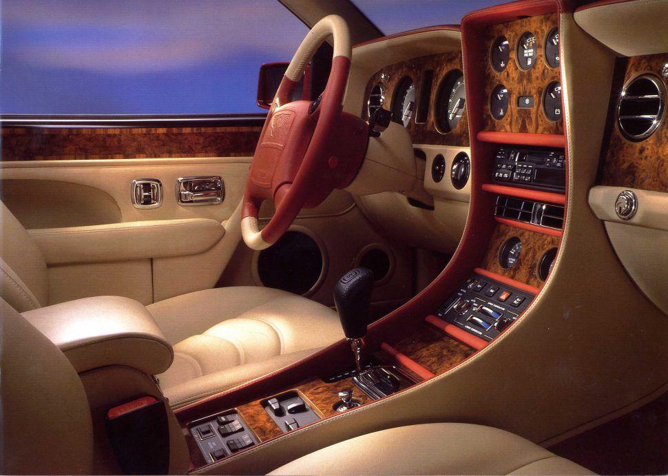 1996 Bentley Continental R interior