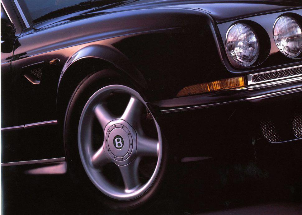 1999 Bentley Continental R Mulliner wheel