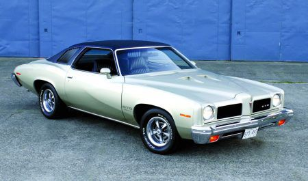 A 1973 Pontiac GTO restoration that got by with a little help from some friends