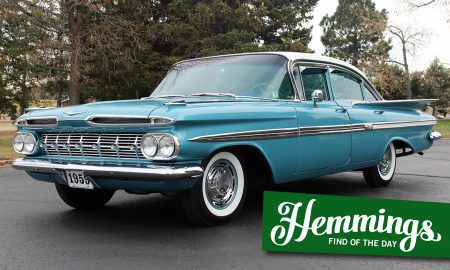Hemmings Find of the Day: 1959 Chevrolet Impala
