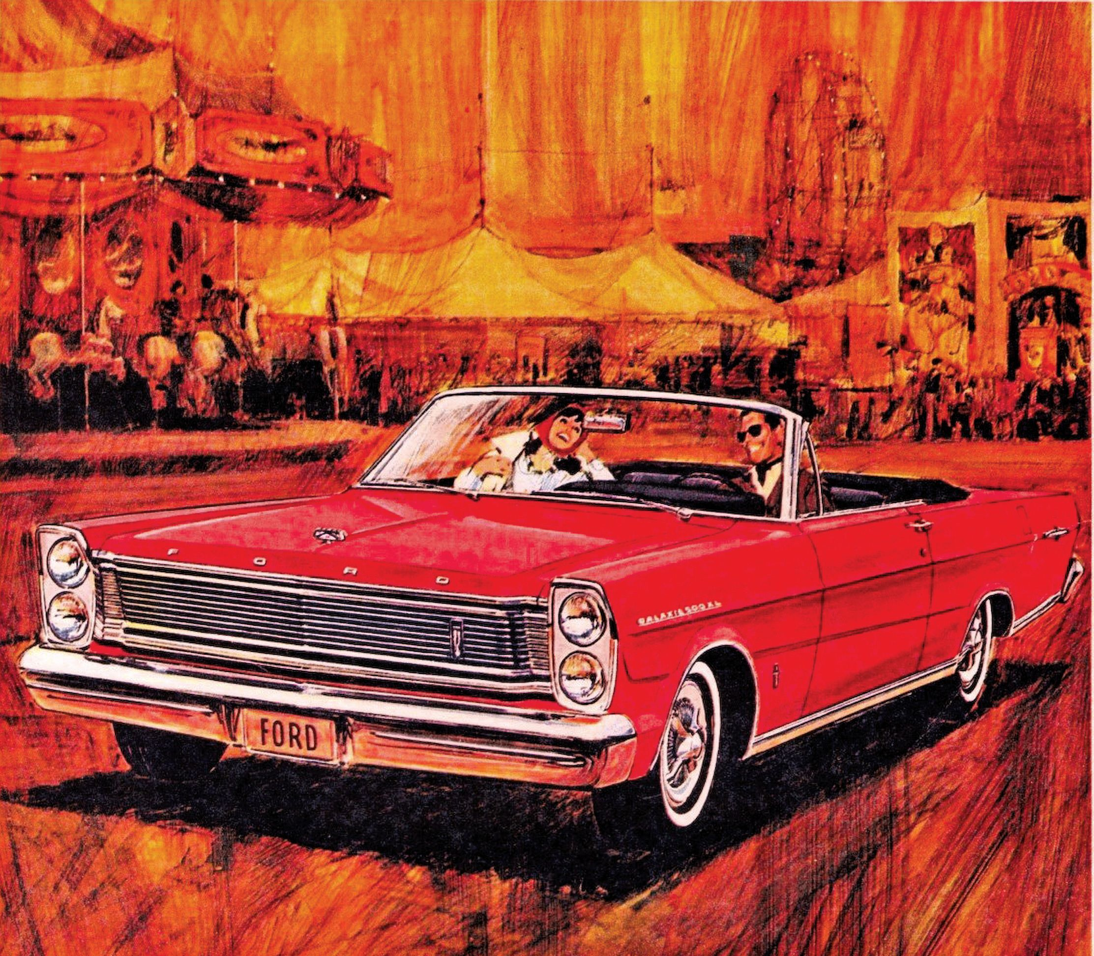 All The Changes On The Ford Galaxie From 1965 68 Ford Forums