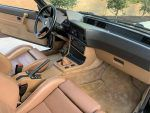 E24 BMW interior tan