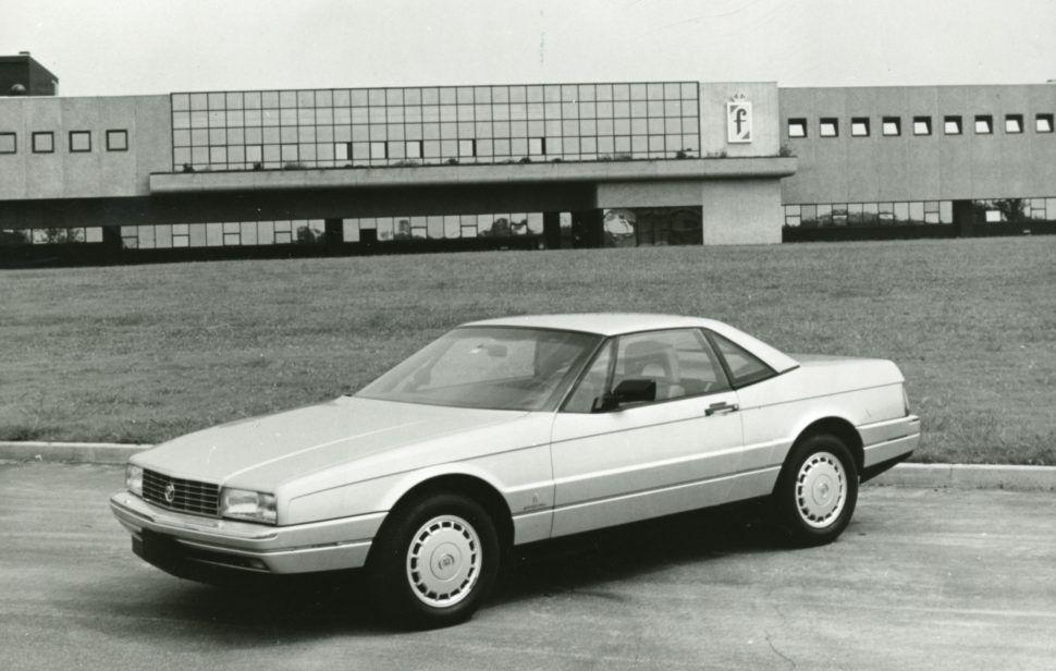 1986 Cadillac Allante at Pininfarina HQ