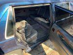Volvo 960 Limo interior rear seats