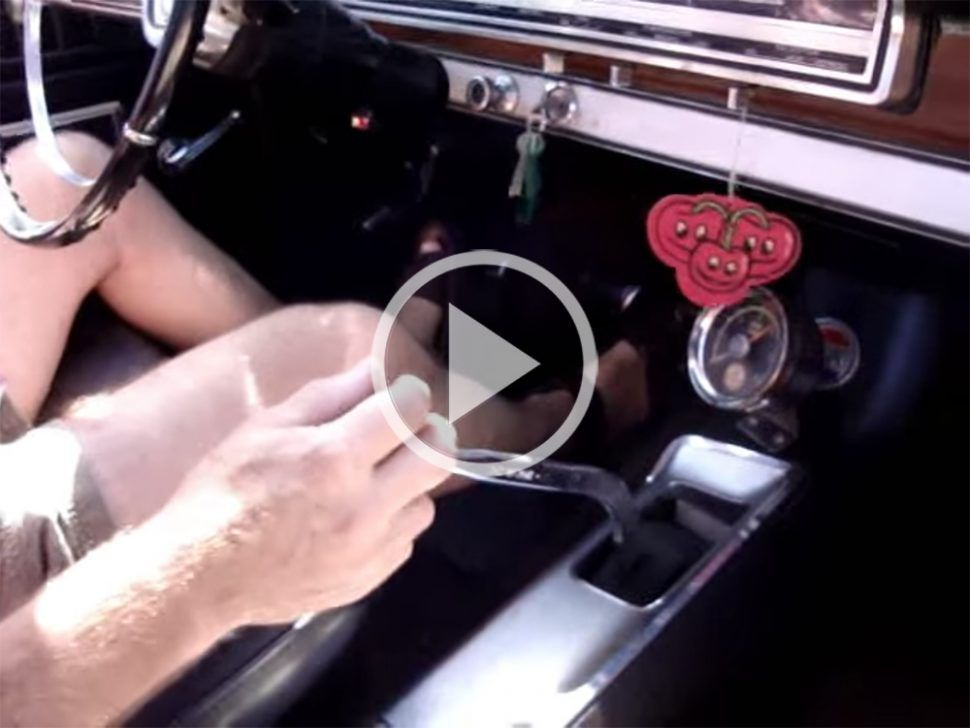 WATCH THIS: rowing a '66 Fairlane GT…very nice, Alex