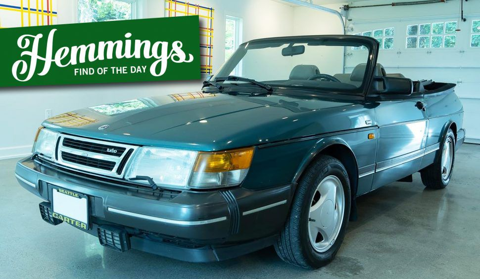 Hemmings Find of the Day: 1992 Saab 900 Turbo convertible