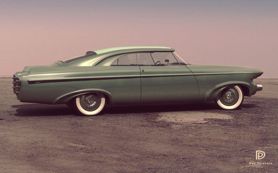Filling in the blanks of automotive history with 3D modeler Dan Palatnik