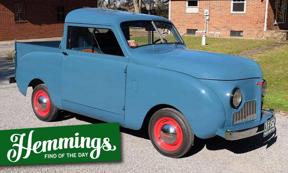 Down to the tin-block engine, this 1947 Crosley CC pickup has been returned to factory condition