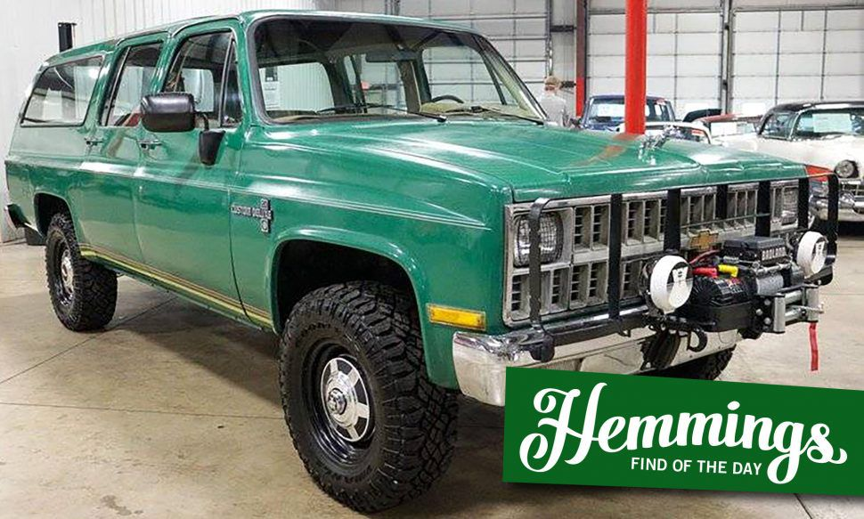 Off-road-ready 1981 Chevrolet Suburban shows that function over form can be an aesthetic too